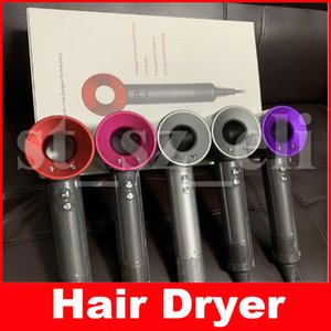 5 colores Super Hair Dryer Professional Salon Tools Secador de pelo Heat Super Speed ​​Blower Secador de pelo seco US UK AU EU Plug