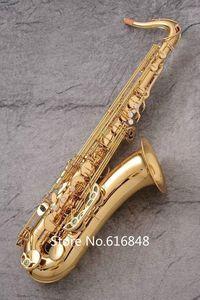 Nuovo YANAGISAWA T-WO2 Tenore B Piatto Sassofono Ottone Tubo Oro Lacca Superficie Bb Tune Strumenti Musicali Sax Spedizione Gratuita