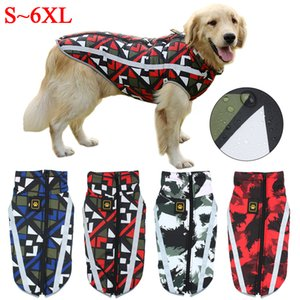 Dog Jacket Large Breed Dog Coat Waterproof Reflective Warm Winter Clothes for Big Dogs Labrador Overalls Chihuahua Pug Clothing