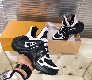 Hot INS Comfort Sneaker Casual sapatos Homens Mulheres Leather Trainers TPU Outsole Arch vestido leve Walking Shoes Sneakers Chaussures