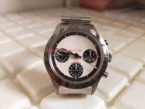 Retro superiore BP 38 millimetri fabbrica 6265 Vintage Paul Newman Cosmograph Cronografo ETA Movimento Meccanico di Mano-bobina di Mens Watch Watches