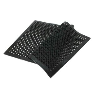 "Anti-Fatigue Kitchen Floor Mat 36""*60"" Commercial Industrial Heavy Duty Black"