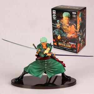 Nouveau design cool bataille Version Decisive One Piece Zoro Roronoa Pvc Figure Toy Collection d'action modèle de jouet Brinquedos