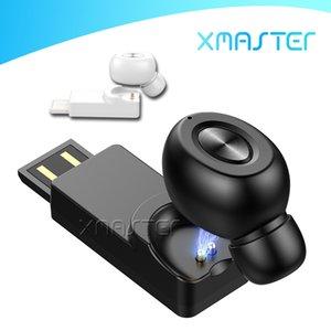 X18 Одно ухо Правда Беспроводные наушники Nosie Отменяя гарнитура Bluetooth 5,0 TWS Наушники с микрофоном для Samsung Note 10 iPhone XR xmaster
