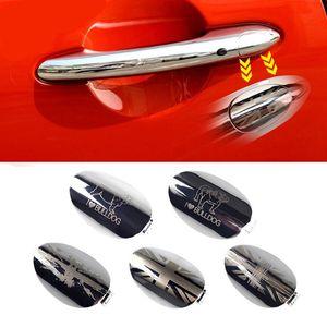 الاتحاد جاك سيارة سائق الجانب الخارجي مقبض الباب ثقب المفتاح الغلاف النفخ تريم لميني كوبر f54 f55 f56 f57 f60 التصميم