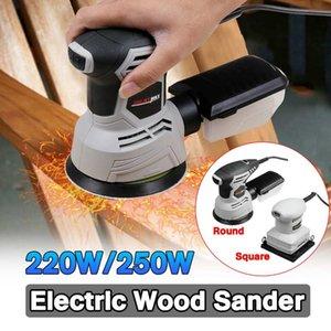 250W / 220W Legno elettrico Sander lavorazione del legno strumento Mobili metallici lucidatura Sander Fai da te Power-Tools Buffer rettificatrice