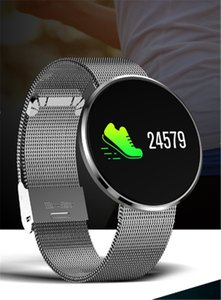 Para Apple Impermeable Smart Watch CF006H Plus Pulsera Sport Fitness Tracker Presión arterial Smartwatch para Android IOS 10pcs