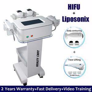 2 IN 1 Liposonix Liposuction Kilo Verme Göbek Zayıflama Makinası Mide Uyluk Fat Loss HIFU Lipo Vücut İnce Vücut Şekillendirme