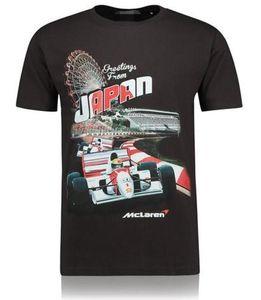 F1 Formula Uno manica corta T-shirt McLaren Mountain Bike Downhill tuta motocross Tuta Quick Dry Top