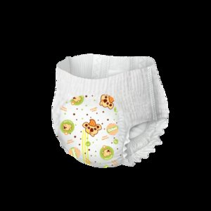 Training pants Disposable baby diapers panties for children golden version care for kids dry and soft size 5
