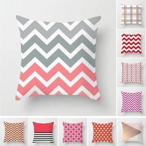 40 * 40cm Multi-color Pillowcase Geometric Almofada Set Aceno Dot Dot Início Sofá Chair Decoração Branco Malha Pillowcase