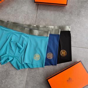 Wholesale Designer Men's Underwear Boxer Shorts Mens Hot Male Underwear Men Boxer Men's Comfortable Underpants Free Ship