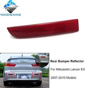 일쌍 후면 범퍼 반사판을 위해 미쓰비시 랜서 EX 2007 년 2008 년 2009 년 2010 후면 경고 램프 등 OEM : 8355A053, 8355A054