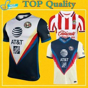 Shirt 2021 Club America maglia da calcio Guadalajara Chivas Uomo Bambini Donne 20 21 Liga MX Club America di calcio