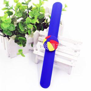 Bambino Pvc Pallavolo Beach Ball braccialetti lavabile bella Rugby Bracciali moda di New Giunte Con Bianco Blu Rosso Nero Colori 1 9ks J1