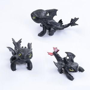 How To Train Your Dragon Toys Night Fury Dragon Plush Doll Toys Toothless Dragon Action Figure Toys Children Kids Gift