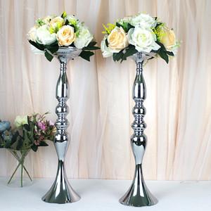26CM Diameter Artificial Flowers 15 Head Fabric Plastic Simulation Flower Road Lead For Wedding Centerpiece Home Decor