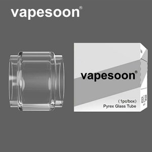 Authentic VapeSoon Bubble Replacement Convex Glass tube For Aero Mesh 5ml Joyetech ProCore Conquer Mfeng Kylin V2 Themis RTA DHL Free