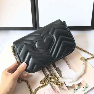Super nano in echtem Schaffell Leder Frau Tasche Designer-Handtasche hohe Qualität Umhängetasche cluth Geldbörse mit dem Kasten hergestellt