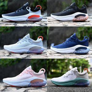 Moda Yeni Rahat Joyride Run ODYSSEY RECT SHIELD Erkekler Ayakkabı Üçlü Siyah Beyaz Platin Ton Üniversitesi Açık ShoesSandals Koşu
