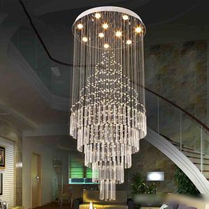 أدى قلادة ضوء فن تصميم غرفة المعيشة غرفة الطعام الثريات الخفيفة k9 كريستال مصباح ac110-240v الكريستال مصابيح السقف vallkin الإضاءة