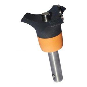Palla di uscita in acciaio inox Quick Lock Pin serrare il tappo di Pin del diametro 6mm