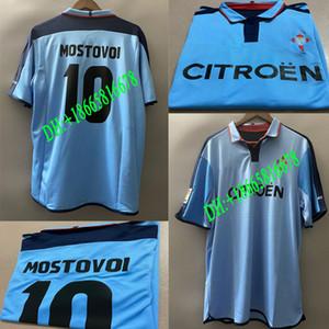 2002 Celta de Vigo Retro Soccer Jersey MOSTOVOI Camiseta de futbol BOBAN SYLVINHO 2004 celta Retro version Football Shirt