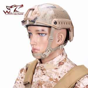 FAST-MH Tactical Helmet Navy Edition Helmet Army Military Head Protector Airsoft Head Gear Hunting Accessories capacete airsoft
