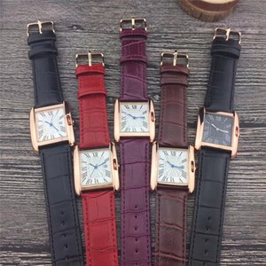 Liebhaber Luxusuhren Herren- und Damenuhren 31mm Herren- und 25mm Damenuhr Durchmesser Zifferblatt Quarzwerk Lederband Paar Armbanduhr