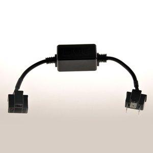 2x H4 Led Canbus Led voiture Erreur phare Avertissement Canceller pour Auto Free Error Headlamp Canbus décodeur