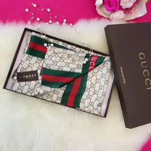 2019 New Silk Schal-Frauen-Qualitäts Italien Marke Blume Silk Schals Schals 180x90cm Pashmina Infinity-Schal-Frauen-Schal Bikini Abdeckung S98