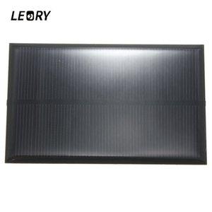 ячейки батарей, панели альтернатор Leory оптом 5В 250мА 1.25 Вт monocrystalline панель солнечных батарей кремния эпоксидной для DIY солнечных батарей модуль для мобильного телефона Летучая мышь...