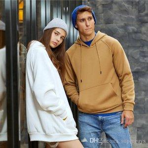 Cotton Mens Pullover Hoodies Fleece Sweater Causal Mens Hoodies Long Sleeve Spring Autumn Winter Sweatershirt Hooded Streetwear WY18