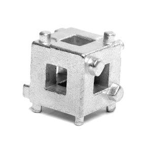 """WDHZ Auto DIY Rear Scheibenbremse Kolben Werkzeuge Caliper Wind Zurück Cube 3/8"""" Silbersattel Adapter Werkzeug"""
