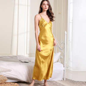 Fashion Sexy Women Lingerie Long Nightgown Casual Ladies Sleepwear Nightdress Camisola Vestidos Femininos Nightie Women Clothing