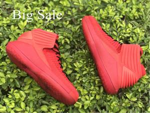Лучшие горячие мужские баскетбольные кроссовки Jumpman 32 XXXII Cool Whole Red 32s Flight Russell Westbrook 32 кроссовки с коробкой