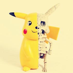 Hot Anime monstro figuras de ação de esqueleto Dissection PVC Figura Collectible engraçados do presente Modelo Toy