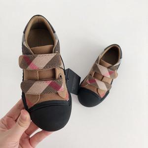 Scarpe in tela per bambini Scarpe elastiche Scarpe per bambini per ragazze Tinta unita Semplici Sneakers per ragazze semplici Tenis Infantil Zapatos