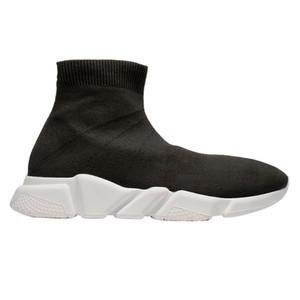 Zapatos 2020 de la venta caliente zapatillas Trainer velocidad Negro Rojo Gypsophila Triple Negro planos del calcetín Botas Hombres Mujeres Casual Speed Trainer Runner