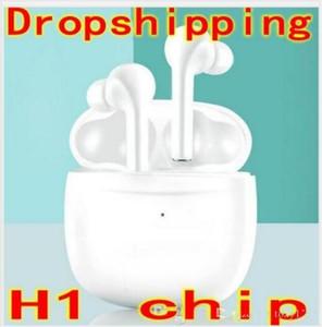H1 칩 3ND 무선 블루투스 헤드폰 프로 스테레오 헤드셋 시리 전화 터치 컨트롤 이름 바꾸기 변경 감지 이어폰 PK W1 칩