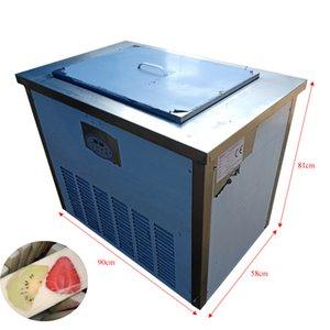 El último diseño de la máquina automática de paleta de modo dual de acero inoxidable máquina de paleta yogur precio al por mayor