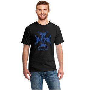 T-shirt do vintage gráfico The Blue Max Decal Hot Rod Camiseta de manga Men Short S ~ 3xl Verão camisetas Homme Hiphop
