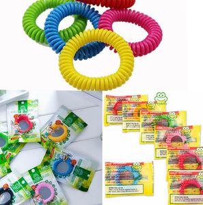 Mückenschutz Armband Bug Insektenschutz für Erwachsene Kinder im Freien Anti-Moskito-Handgelenk-Band-Armband LJJK2197
