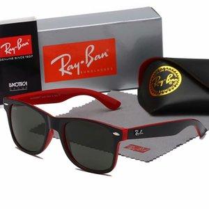 상자 선글라스 빈티지 파일럿 브랜드로 2140 태양 안경 밴드 UV400 보호 남성 여성 그네 선글라스를 금지합니다