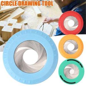 Flexible Circle Drawing Tool Adjustable Measuring Drawing Ruler For Woodworking Creative Drafting Scribe Carpenter Gauge Tool