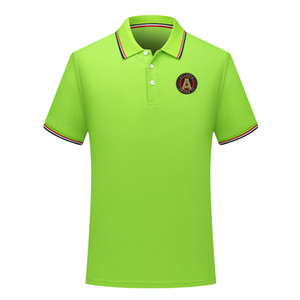 2020 Atlanta United FC nova camisa POLO ocasional de futebol camisa pólo de futebol lapela polo camisa polo dos homens de manga curta Men Camisa formação