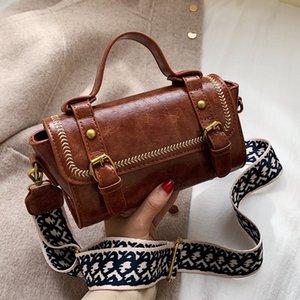 HISUELY сумки Женские сумки Кожа PU Сумочка Мода Широкий ремень Женщины сумка Сумка Клатчи