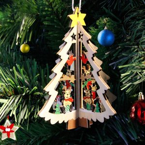 Mode aus Holz personalisierte Speicher Weihnachtsbaum Geschenk Memorial Dekoration Christbaumkugel L