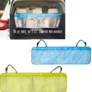 2019 Grand Auto Car Boot Organisateur multifonction pliable Corbeille Hanging Sacs de rangement Organisateur pour la voiture Seat Capacité pochette de rangement EEA230