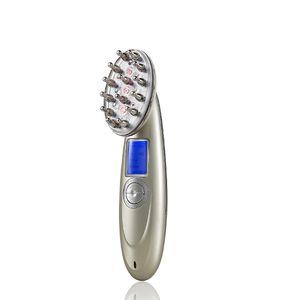 نمو الشعر مشط الليزر 650nm الأحمر ضوء العلاج USB شحن الشعر Regrowth مشط الشعر صالون جديد في عام 2019